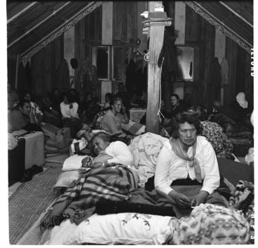 Image: Ringatu Church meeting, Wainui, near Ohope Beach