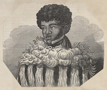 Image: Artist unknown :[Portrait of Edward Parry, a baptized New Zealand youth. Church missionary quarterly papers no LXXIII, Lady-Day, 1834].