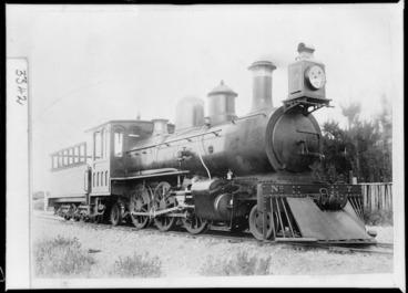 Image: V class steam locomotive, WMR 7, 2-6-2 type