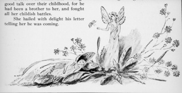 Image: Harris, Emily Cumming, 1837?-1925 :Chapter III. The mysterious disappearance of Fayette. [Bottom of page. 1909].