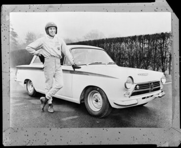 Image: Ford car with driver