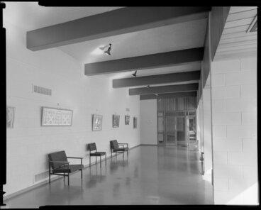 Image: Corridor, Weir House, Victoria University of Wellington