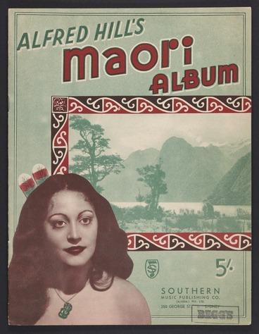 Image: Alfred Hill's Māori album.