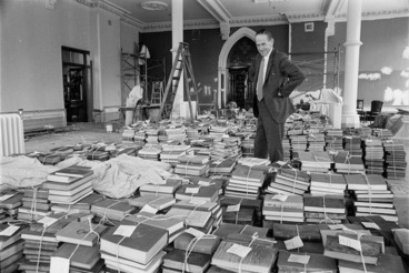 Image: Chief Librarian, General Assembly Library, Wellington, New Zealand