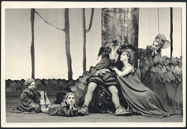 Image: Scene from A Midsummer Night's Dream