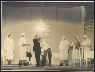 Image: Scene from Exit Sir Derek
