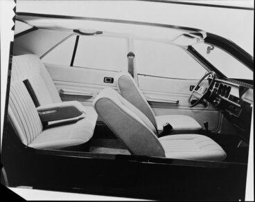 Image: Interior of car
