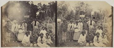 Image: Maori group at Pokeno
