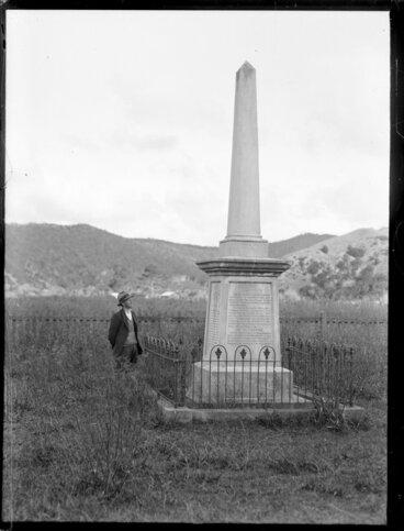 Image: Treaty of Waitangi Memorial at Te Tii marae, Waitangi