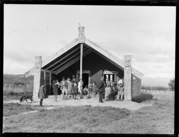 Image: Peter and Ruinea Rota's wedding day, Korohe marae