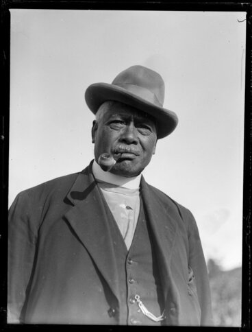 Image: Keepa Te Ahuru, Maori minister for Rātana church, Taupō
