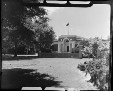 Image: The Robert McDougall Art Gallery, Botanic Gardens, Christchurch
