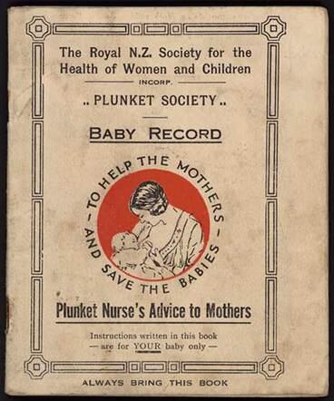 Image: Plunket baby record, 1937