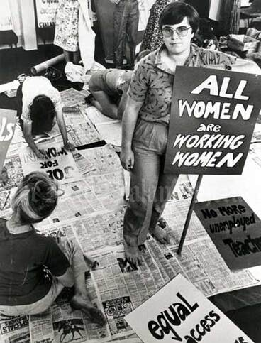 Image: Working Women's Council, 1981