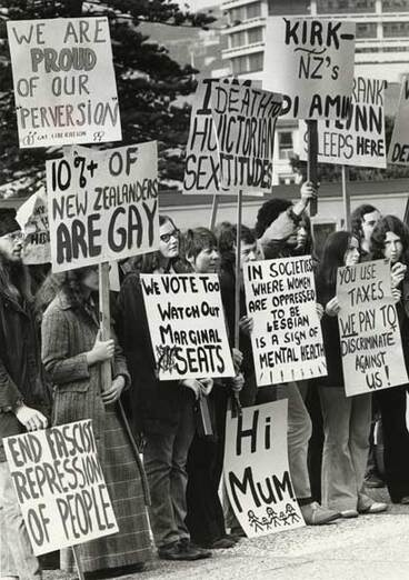Image: Gay reform protest