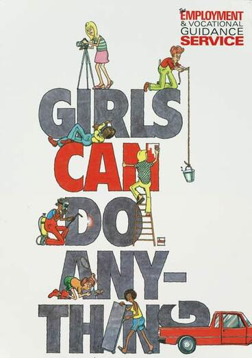 Image: Girls can do anything
