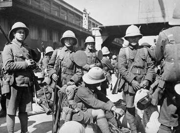 Image: Pioneer Battalion, First World War