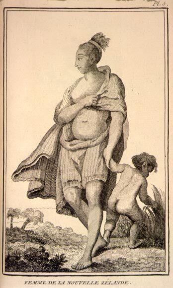 Image: 'Femme de la Nouvelle Zélande'