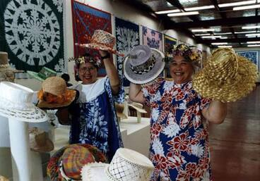 Image: Pacific women's craft exhibition