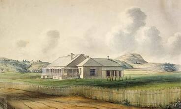 Image: Government House, Auckland, 1840s