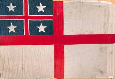 Image: United Tribes' flag: Ngāi Tahu flag