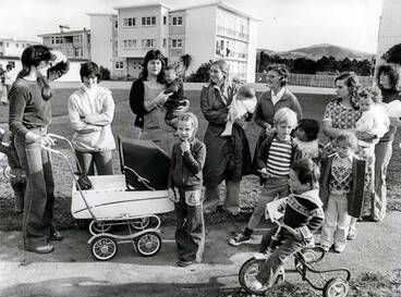 Image: Seeking a community playground, 1977