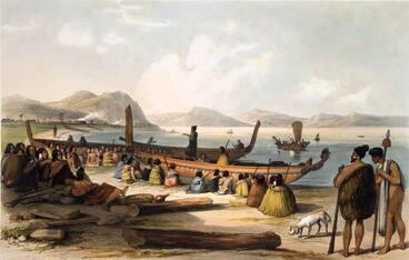Image: Aotearoa: 1800-1840, te reo Māori