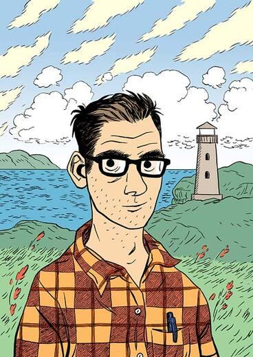 Image: Comic artist Dylan Horrocks
