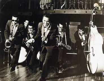 Image: Māori Hi-Five band