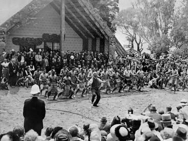 Image: Āpirana Ngata at Waitangi, 1940