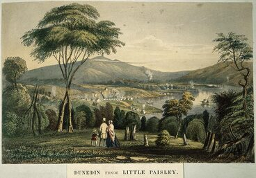 Image: View of Dunedin from 'Little Paisley'