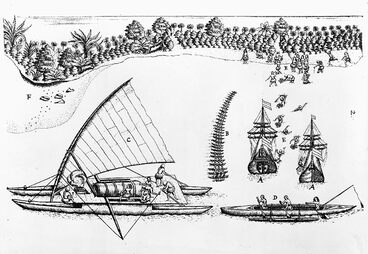 Image: Polynesian double hull