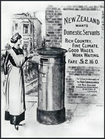 Image: 'New Zealand wants domestic servants'