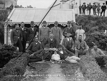 Image: Māori councils: Parihaka management committee