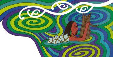 Image: Hinemoa's swim