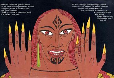 Image: Mahuika and her fingernails of fire