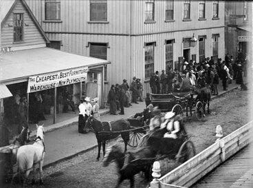 Image: Women voting, 1893