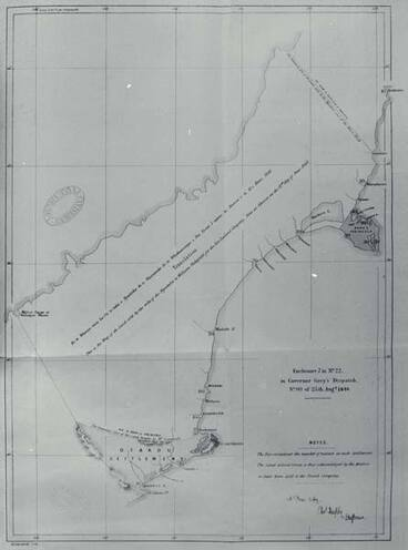 Image: Land purchased from Ngāi Tahu