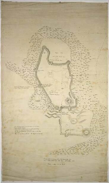 Image: Plan of Kaiapoi pā