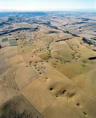 Image: Dolines in north Otago