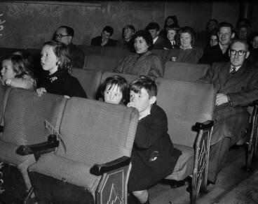 Image: Watching movies