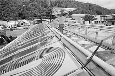 Image: Installing solar panels