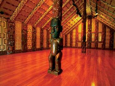 Image: Meeting house, Waitangi