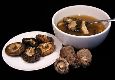 Image: Shiitake mushrooms