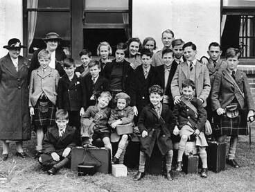Image: Child migrants, Wellington