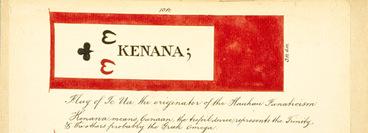 Image: Te Ua Haumēne's flag