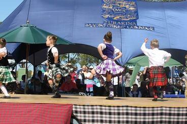 Image: Highland dancing