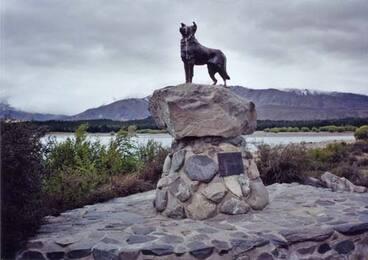Image: The sheepdog memorial, Lake Tekapo