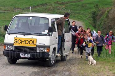 Image: Rural schoolchildren