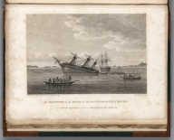 Image: (View) Plate VI (in Volume I). A Discovery on the Rocks in Queen Charlotte's Sound